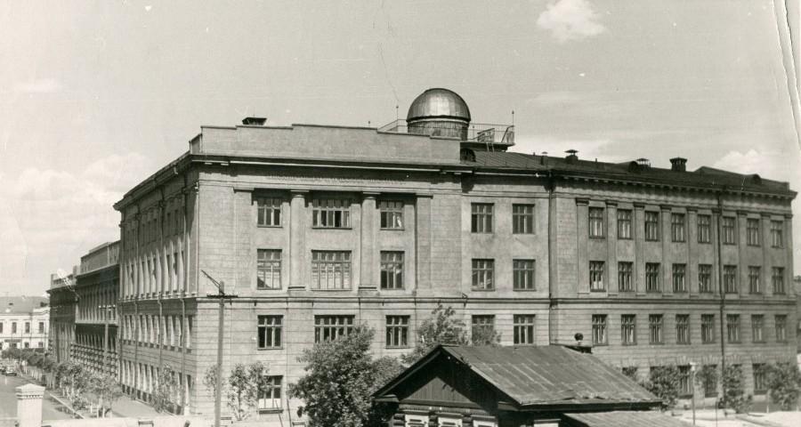 Корпус ОмГПИ, 1959 год
